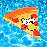 Amazon.com: Haute flotador pizz1 gigante de pizza para tubo ...