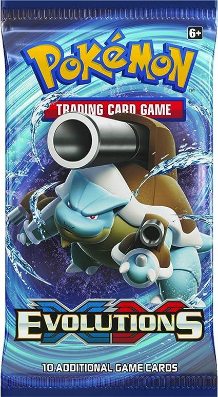 PoKéMoN 14500-s XY # 12 de la evolución Booster Trading Cards ...