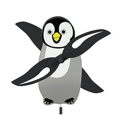 WindNSun WhirlyGig Outdoor Animated Decor, Penguin: Toys & Games