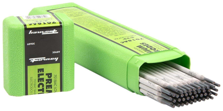 Forney 30685 E7018 AC Welding Rod, 1/8-Inch, 5-Pound
