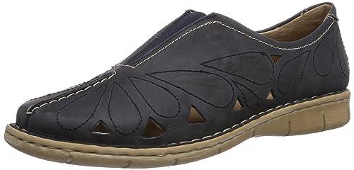 Neele 02, Zapatos de Cordones Derby para Mujer, Azul (Blau 500), 37 EU Josef Seibel