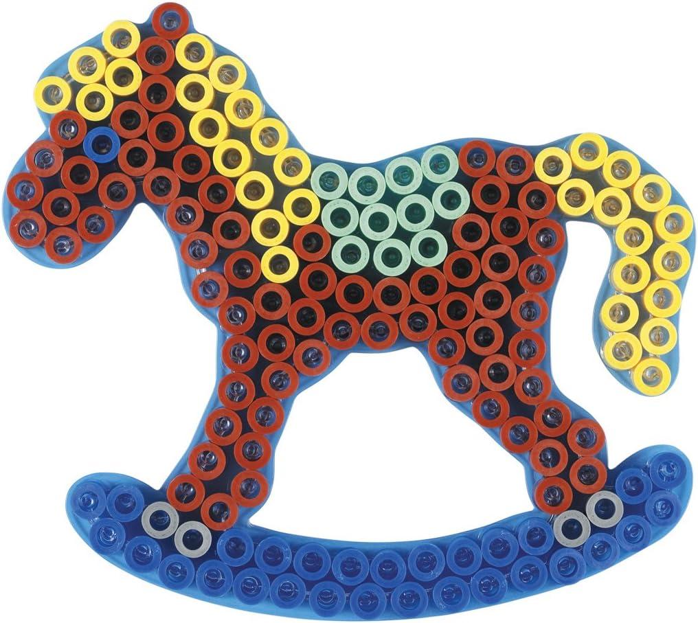 Hama 10.8221 Maxi Transparent Pegboard-Horse Mixed