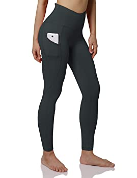 ODODOS Women's Out Pockets High Waisted Yoga Leggings