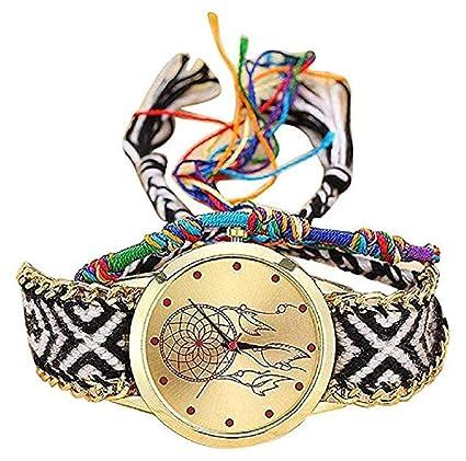 Amazon.com: TOPOB - Reloj de pulsera para mujer, hecho a ...