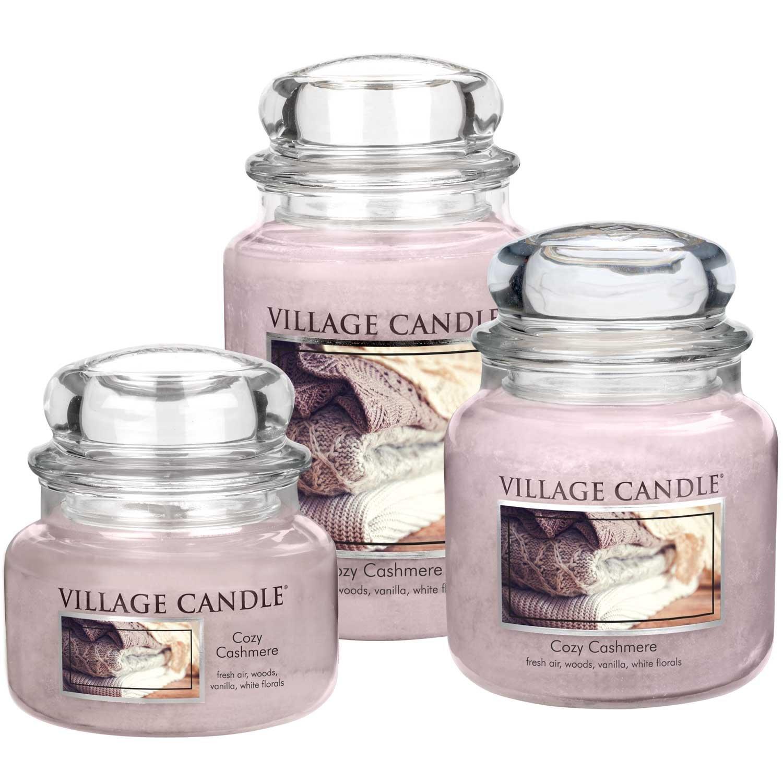 Rosa Village Candle 106311834 Cozy Cashmere Vaso Piccolo 9.8 x 9.5 x 5.5 cm
