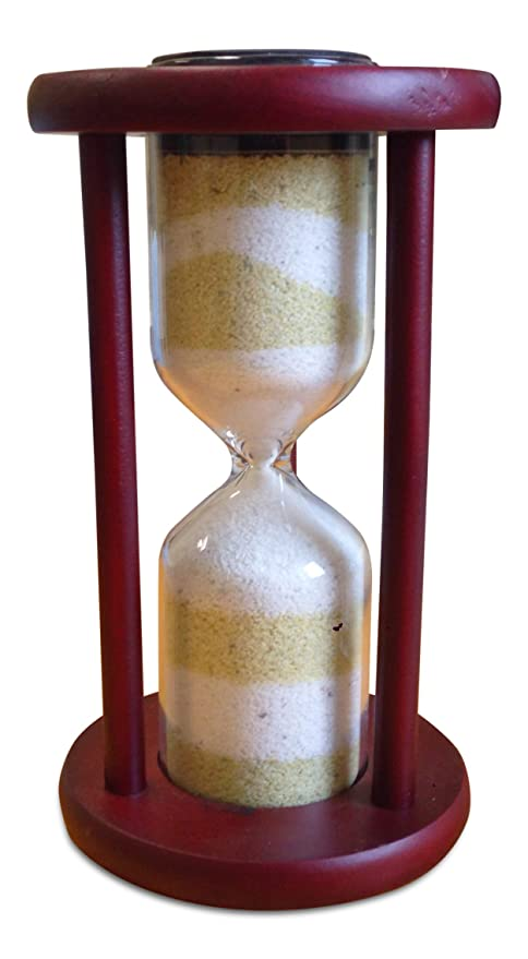 La unidad ceremonia de la arena reloj de arena jarrón para bodas