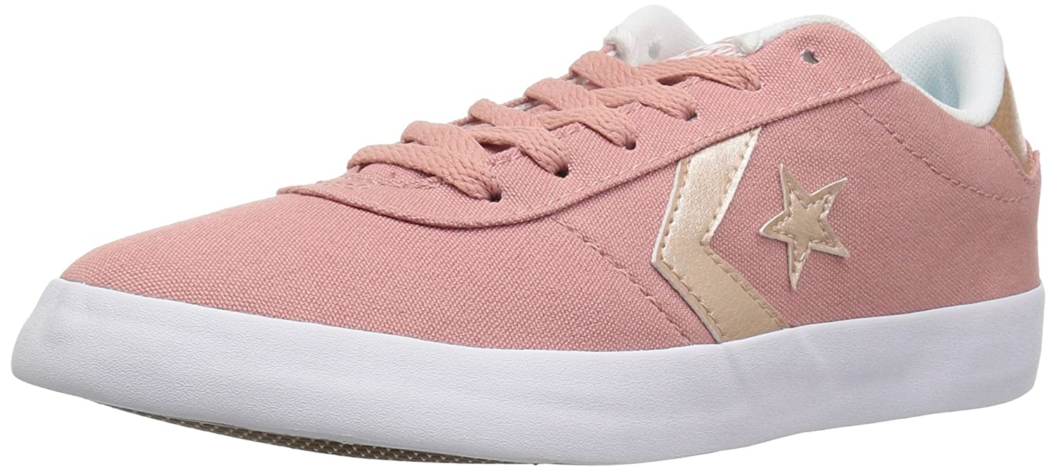 Converse Women's Point Star Low Top Sneaker B07CQCFMLS 5 M US|Rust Pink/White/Peach