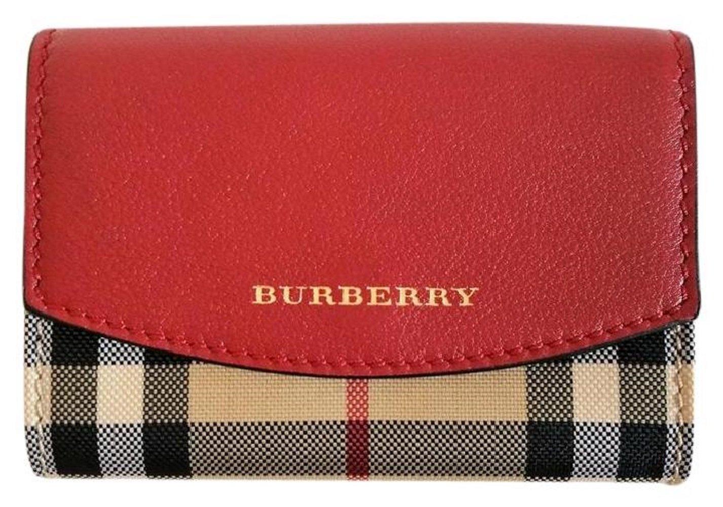 Burberry Horseferry Check Chesham Card Case