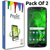 POPIO Tempered Glass for Motorola Moto G6 -Pack of 2