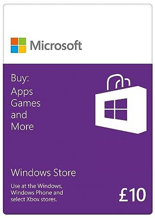 microsoft 10 gift card windows branded online code amazon co uk