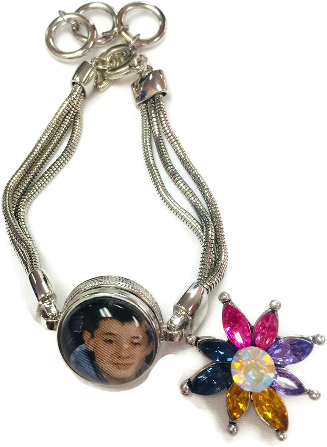 snap jewelry Feathers and flowers snap . 18mm  20mm interchangeable snap snap button