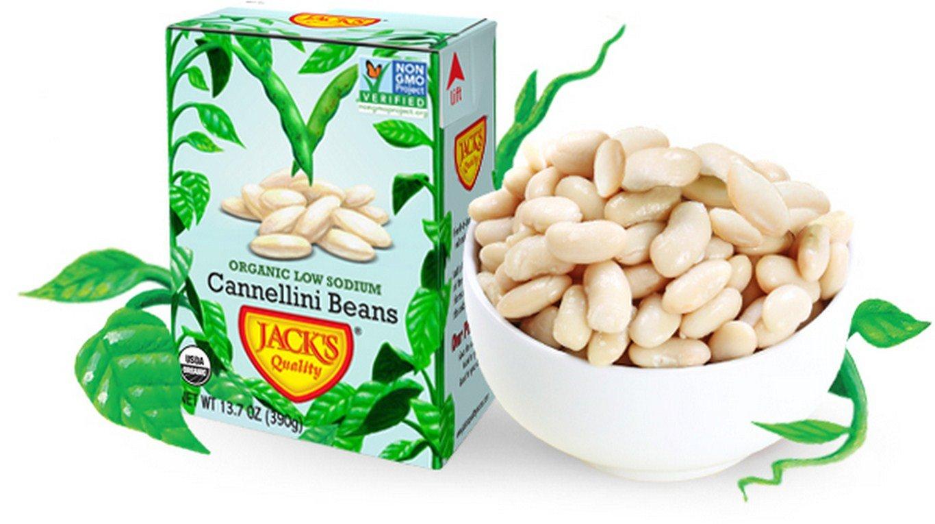 Jacks Quality Bean Cnnllni Lw Sodium Or
