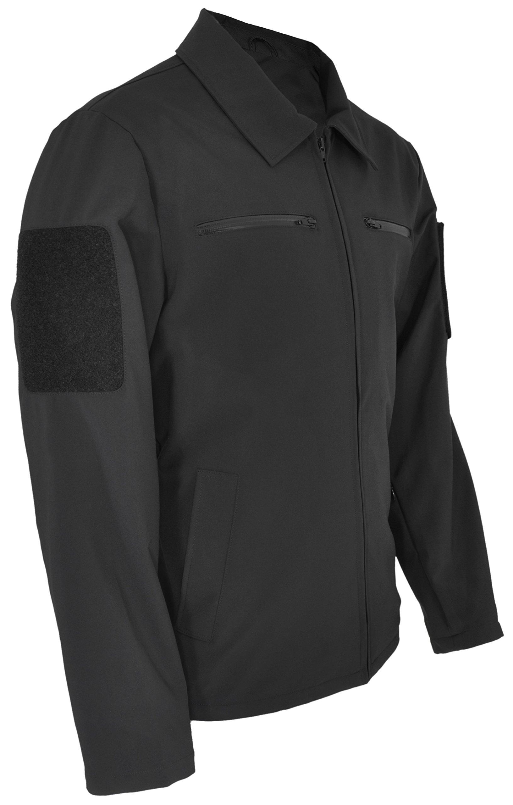 Hazard 4 Action-Agent Softshell Urban Jacket, Black, Large