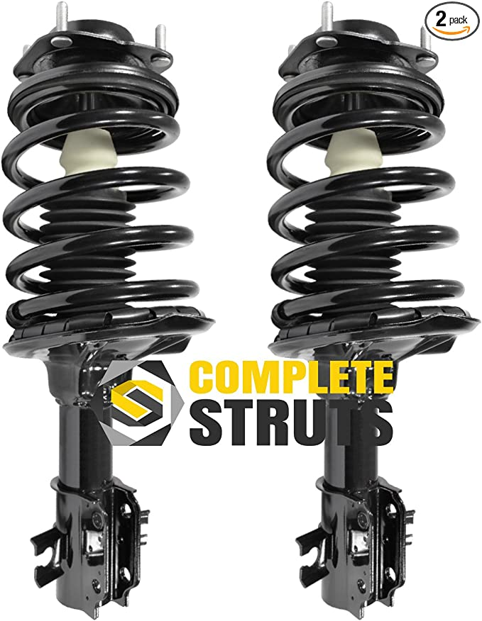 Rear Pair Complete Struts /& Coil Spring Assemblies for 1997-2002 Ford Escort
