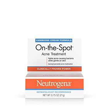 Buy Neutrogena On The Spot Acne Treatment Vanishing Cream Formula 0 75 Oz Pack Of 5 Online At Low Prices In India Amazon In