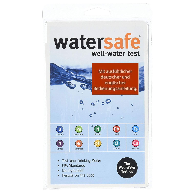 Kit de análisis de agua potable (10 pruebas diferentes en 1) con ...