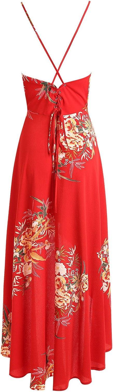 dextrad dress Chiffon Women Summer Beach Long Dresses Spaghetti Strap Asymmetrical Dress
