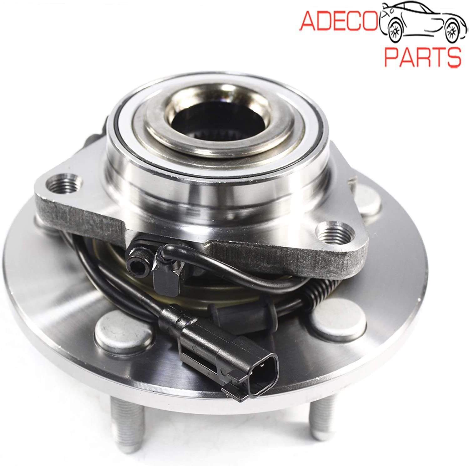 AdecoAutoParts /© Front Wheel Bearing and Hub Assembly Replacement WH515151 for Ram 1500 2012-2017 MB25309
