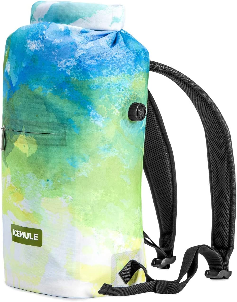 IceMule Jaunt Insulated Backpack Cooler Bag – Hands-Free, Collapsible, Waterproof and Soft-Sided, This Highly Portable Cooler is Ideal for Hiking, The Beach, Picnics, Camping, Fishing – Go Series