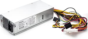 Mackertop 220W 633195-001 Power Supply Unit (PSU) Compatible with HP Pavilion Slimline S5-1024, S5-1010, S5-1020, S5-1214 and Other S5 Series; TouchSmart 310-1205la Desktop PC, FH-ZD221MGR PS-6221-9