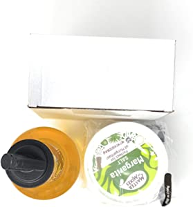 RSG TODAY Black Plastic Glass Rimmer and Margarita Salter with 3 Compartments (Value Pack 6)/RSG TODAY Packaged Sugar/Master of Mixes Margarita Salt/Finest Call 1 Liter Premium White Sangria Mix