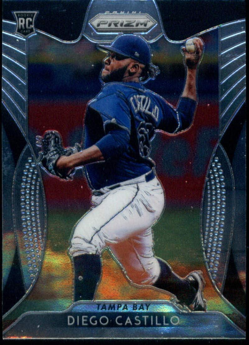 2019 Topps #650 Diego Castillo RC Rookie Tampa Bay Rays MLB Baseball Trading Card