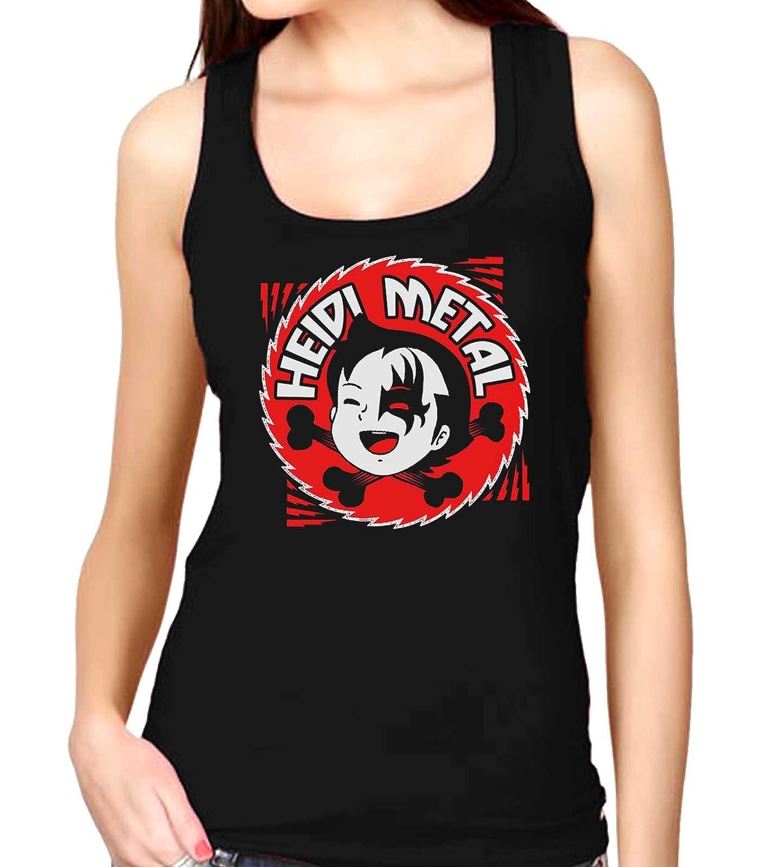 35mm Camiseta Mujer Tirantes Womens Tank Top Heidi Metal
