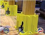 Safety Boot Yellow OSHA Temporary Guard Rail System