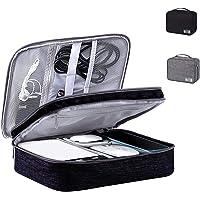 Organizador de cable de viaje de 3 capas, accesorios electrónicos portátiles, estuches de disco duro, bolsa de…