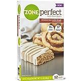 Zone Perfect Nutrition Bars, Cinnamon Bun Cookie Dough, 12 Count