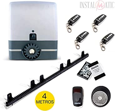 KIT completo profesional Motor puerta corredera VDS SIMPLY para ...