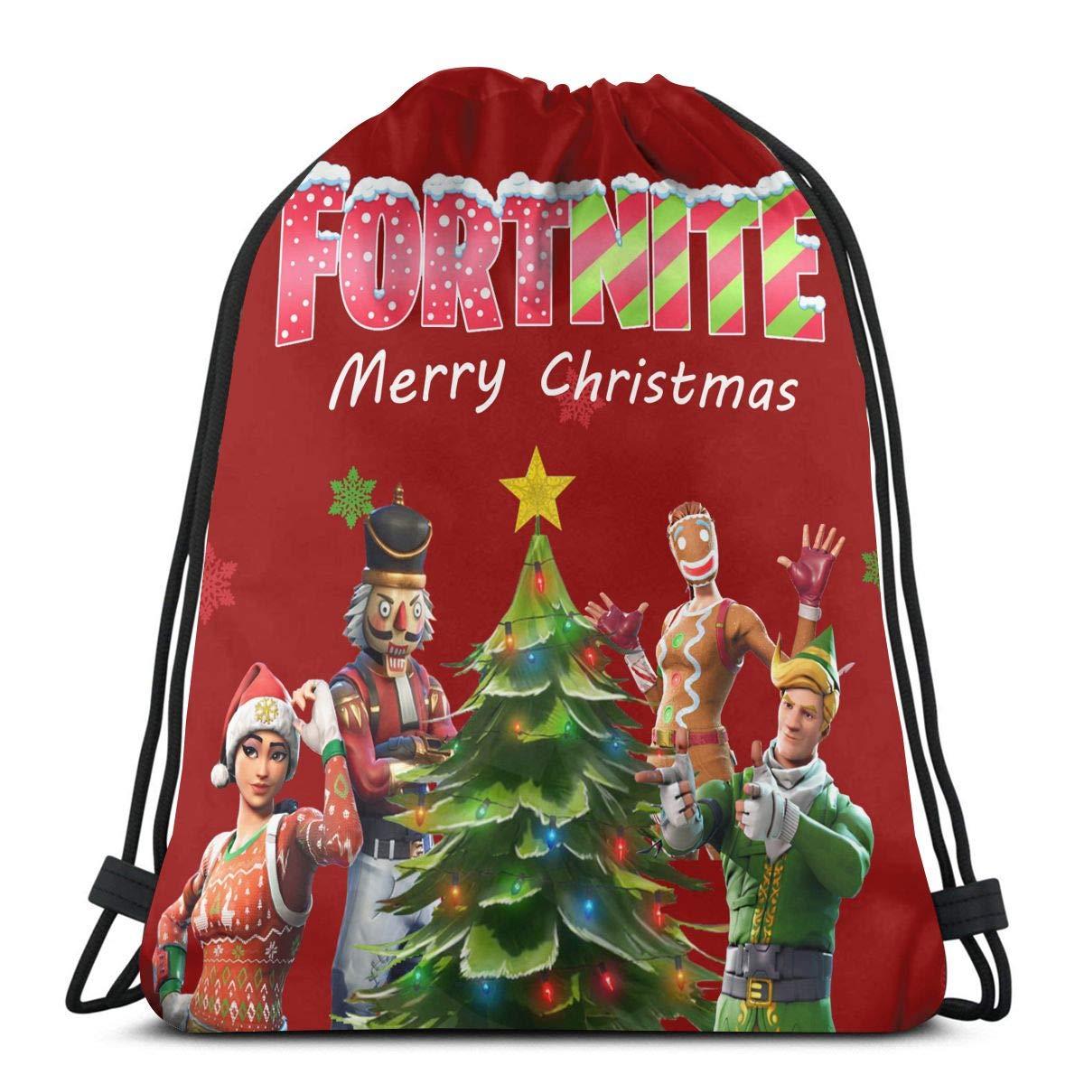 fad30686c0 Amazon.com   FORTNITE Battle ROYALEGym Sackpack Drawstring Backpack Sport  String Bag Cinch Pack Shoulder Bag   Sports   Outdoors