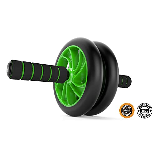 Ab Roller Wheel :: Abs Carver for Abdominal & Stomach Exercise Training :: Because You Need the Best Fitness Equipment Core Shredder :: Your New Ab Trainer Includes 2 Instructional eBooks