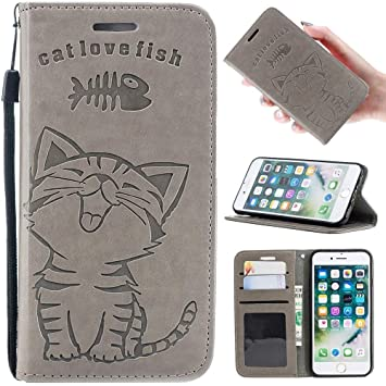 4ac01b9d5e Zoeking iPhonex 手帳型ケース かわいい iPhone x ケース 手帳型 おしゃれ 可愛い 猫柄と
