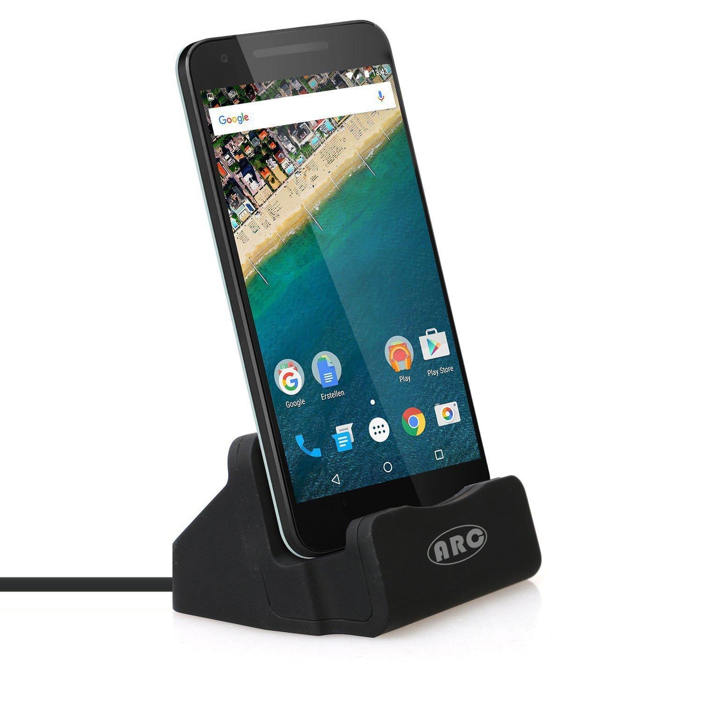USB C Dock, USB Type C Charging Station Sync Dock for Nexus 5X Google Nexus 6P and Other Type-C Mobile Phone (Black)