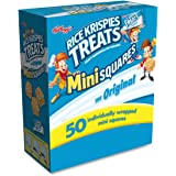 Rice Krispies Treats Original Mini Squares, (Box of 50 count)