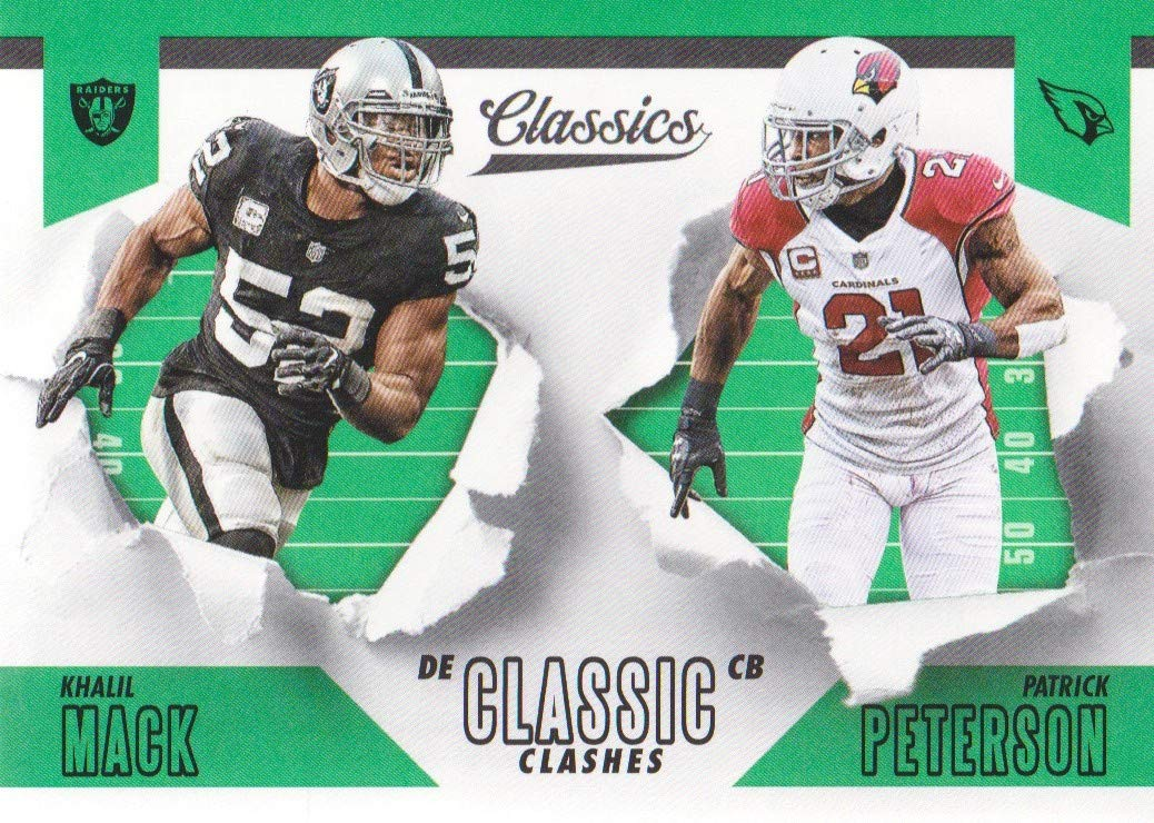 19f95e7f6 2018 Classics Football Classic Clashes #13 Khalil Mack/Patrick Peterson at  Amazon's Sports Collectibles Store