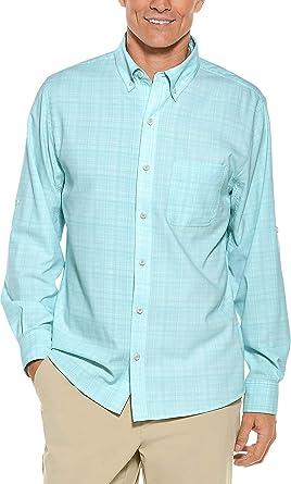 dc1d6b5bdc5 Amazon.com  Coolibar UPF 50+ Men s Sun Shirt - Sun Protective  Clothing