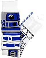 Star Wars R2-D2 Junior/Women's Knee High Socks Size 4-10 White