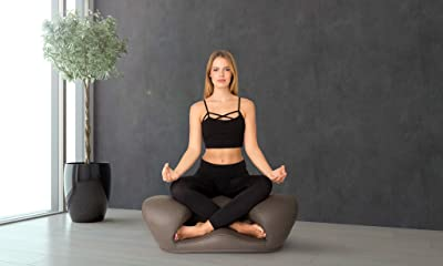"Alexia Meditation Seat ""Ergonimically Correct for the Human Physiology"" Zen Yoga Chair for Home or Office"