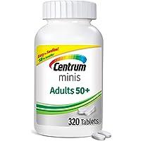 Centrum Minis Adult 50+ (320 Count) Multivitamin/Multimineral Supplement Tablets