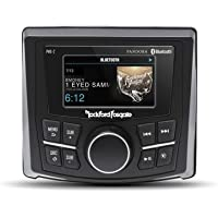 "$339 » Rockford Fosgate PMX-2 Punch Marine Compact AM/FM/WB Digital Media Receiver 2.7"" Display"