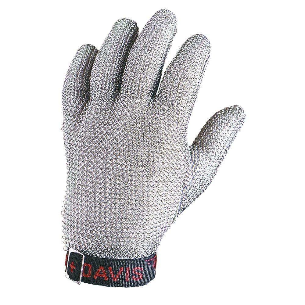 Honeywell Whiting + Davis 5-Finger Metal Mesh Cut-Resistant Gloves, Large (RWS-57005)