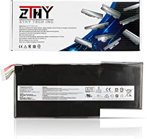 ZTHY New BTY-M6K Laptop Battery for MSI Stealth Pro MS-17B4 MS-16K3 GS63VR 7RG 7RG-005 GF63 8RD 8RD-031TH 8RC 8RC-034CZ GF75 Thin 3RD 8RC 9SC 9SC-088CN Series Replacement 11.4V 52.4Wh 4600mAh 3Cell