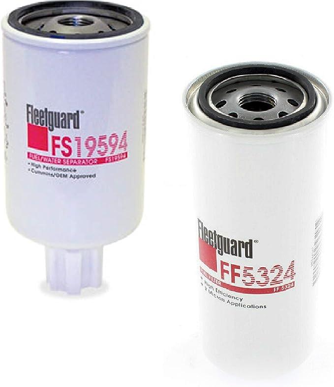 Fleetguard Fass Fuel System Replacement Filters Powerstroke Cummins Duramax