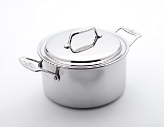 product image for USA Pan Cover, 4 Quart Stock Pot, Stainles Steel