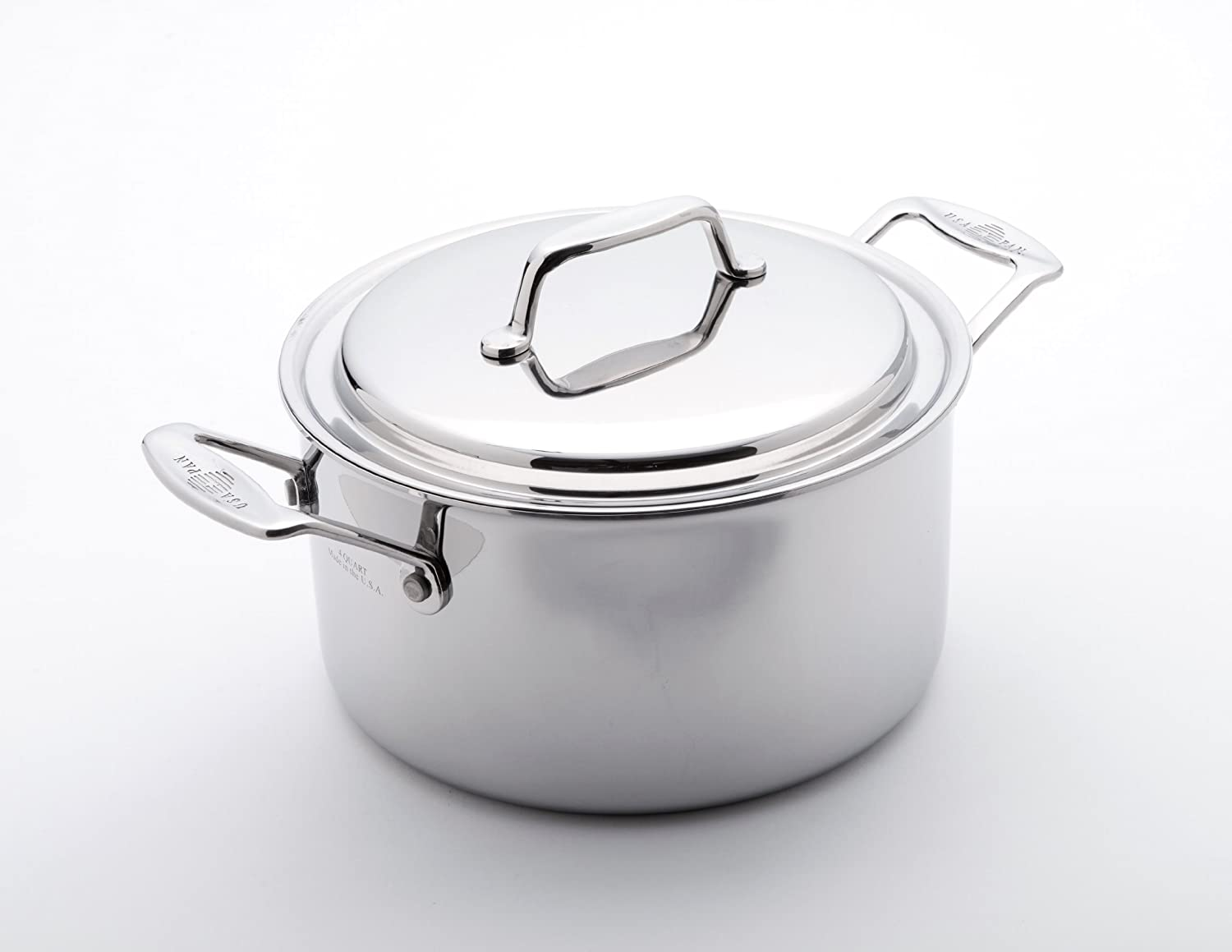 USA Pan 1515CW-1 Cover, 4 Quart Stock Pot Stainles Steel