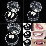 Leetaker ハロウィン バンパイアの牙 付けは 男女共用 おしゃれ かわいい かっこいい コスプレ 2本セット