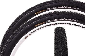 2 x 29 pulgadas Continental Race King MTB Mountain Bike – Cubiertas para bicicleta (