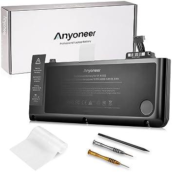 """Anyoneer A1322 6000mAh batería del ordenador portátil súper capacidad de Apple MacBook Pro 13"""" A1278"""
